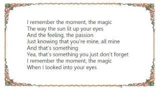 Brett Kissel - Something You Just Don't Forget Lyrics