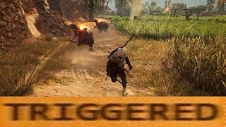 ASSASSIN'S CREED ORIGINS - SCARY MOMENT (TRIGGERED HIPPO)