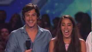 "X Factor: Alex & Sierra ""You're The One That I Want"" (Sneak Peek)"