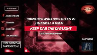 Tujamo vs Eastblock Bitch vs Hardwell & D3FAI - Keep Dab The Daylight (Facüü Martinez Mashup)