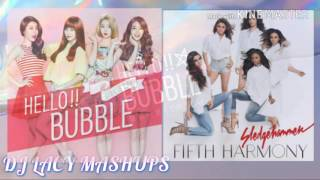 Fifth Harmony x Girl's Day ~ Hello Bubble x Sledgehammer ~ Hello Sledgehammer Mashup