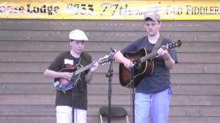 Jonah Horton with Zeb Snyder 2012