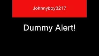 Dummy alert sound effect