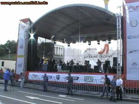 Drummers' show in Kiev