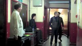 Pre Show Warm Up @ Oxford New Theatre (Flip Video)