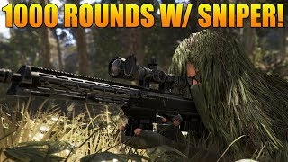 1000 Rounds with a Sniper - Ghost Recon Wildlands PVP (Ghost War Sniper Montage)