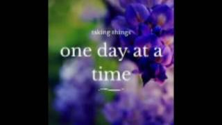 One Day at a Time - Cover by Joyce Sarah.Video courtesy - Anandhan. Thanks Anna for your help.