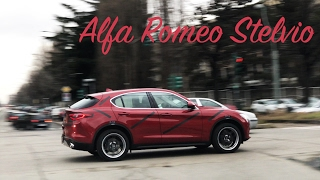 New Alfa Romeo Stelvio 2017 spotted - 4K Slow motion