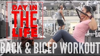 GARRETT GETS BEST BOYFRIEND AWARD | BACK & BICEP W/O