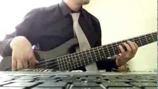 Tinie Tempah - Written In The Stars ft. Eric Turner (Bass Cover)