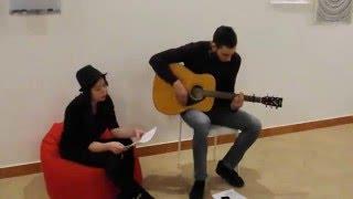 ReadBrit: Назар Рейкін та Вікторія Співачук виконують пісню Spies гурту Coldplay