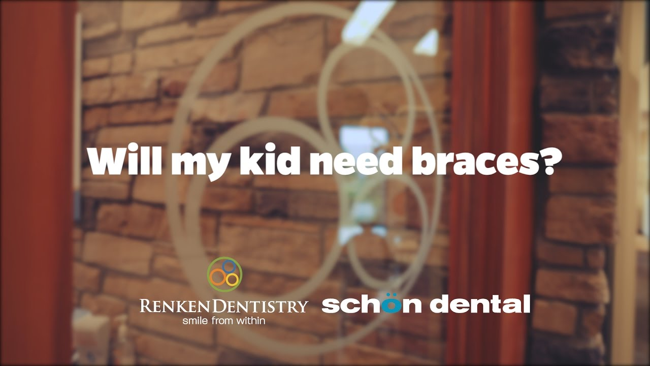 Will my kid need braces?