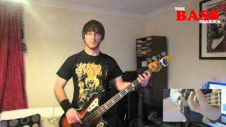 Stone Temple Pilots - Vasoline (Bass Cover)