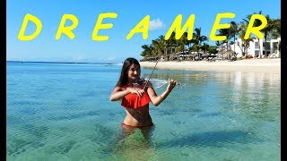 Axwell Λ Ingrosso - Dreamer (electric violin cover)| Wonderful Mauritius&underwater world