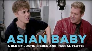 """""""Asian Baby"""" - Justin Bieber and Rascal Flatts """"That Should Be Me"""", cover by a bad lip reader"""