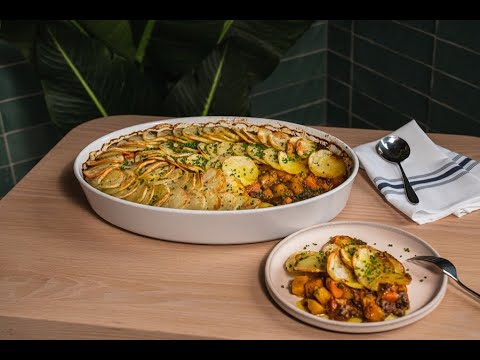 Patois Chef Craig Wong shows us how to make the plant-based Jamaican curry autumn cottage pie