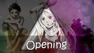 Deadman Wonderland Opening デッドマンワンダーランド OP 「Fade - One Reason」 [Lyrics on Screen]