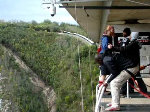 the highest bungee in the world