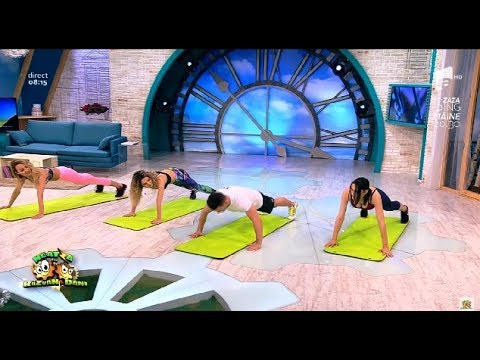 Fitness Exerciții simple pentru persoanele mai puțin active