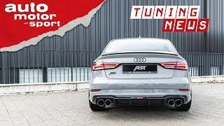Abt Audi RS3 Limousine: 500 PS im Stufenheck - TUNING-NEWS |auto motor & sport