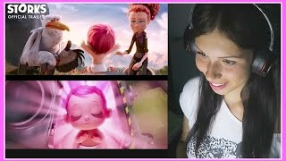 STORKS - Official Trailer 3 REACTION!!! SO CUTE!