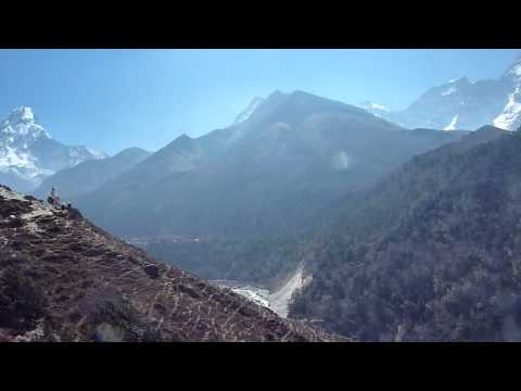 Sunstone Adventures – Views of Ama Dablam and Kangtaiga in Everest Region of Nepal