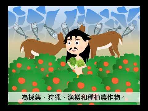 5上ch2單元   扉頁動畫-臺灣遠古的故事 - YouTube
