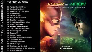 [OTS] The Flash vs. Arrow (Music Selections) - 10. Looking for Boomerang