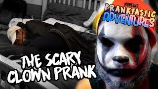 Munesh's Pranktastic Adventures   Clown Scare Prank