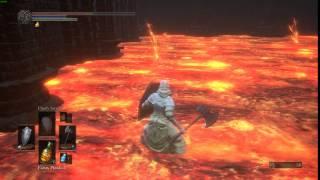 Dark Souls 3 : Shield blocks fire damage from walking in lava.