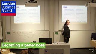 Being a Better Boss