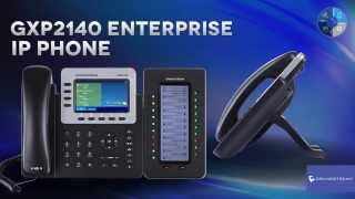 Grandstream GXP2140 Enterprise IP Phone Credit :  GrandstreamNetworks