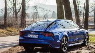 2017 Audi RS7 Performance 605HP - start-up, launch control, sound and interior