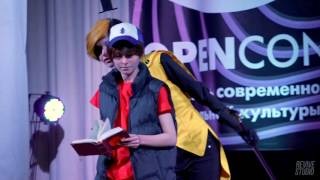 [OPENCON 2016: ALT 6] Gravity Falls - Dipper Pines, Bill Cipher - Синхрофазотрон