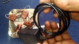 Easy Free Energy Cellphone Charger using Speaker Magnet with Copper wire   Energy Free