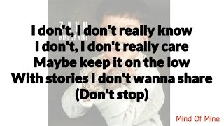 Zayn - wRoNg ft. Kehlani Lyrics