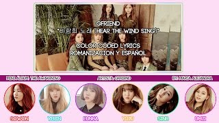 "GFRIEND (여자친구) ""바람희 노래 (Hear the Wind Sing)"" [COLOR CODED] [ROM