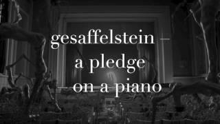 [piano version] Gesaffelstein – A pledge
