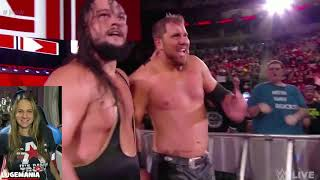 WWE Raw 10/1/18 B Team vs The Revival