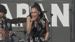 ROCK IN JAPAN FES.初出演の中島美嘉が名曲『GLAMOROUS SKY』を熱唱!
