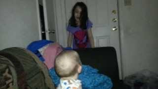Cute baby laughing part 2