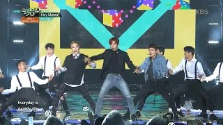 뮤직뱅크 - EXO-CBX - Hey Mama!.20161118