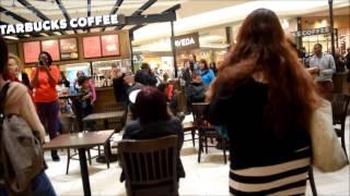 Denver Protesters Remix Mockingjay's Hanging Tree @ Cherry Creek Mall