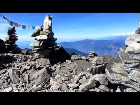 Martin in Nepal 2012 – Gipfel Surya Peak (5145m)