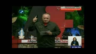 Diosdado Cabello: El caso de Andrade es una campaña en contra de Chávez