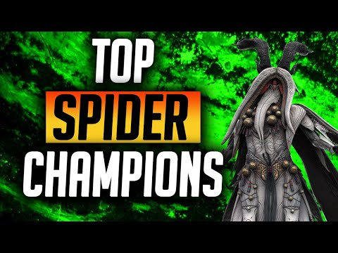 Top5 Uncommon, Rare & Epics to beat Spider! | Raid: Shadow Legends