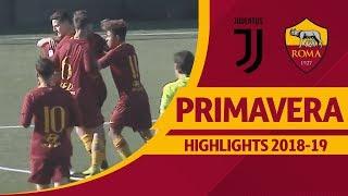 Juventus 1-3 Roma, Primavera Highlights 2018-19