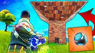 "NOUVEAU ""FORT PORTATIF"" sur Fortnite Battle Royale !! - ""Fort de Poche"""