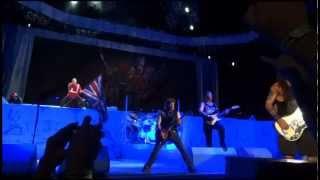 Iron Maiden - The Trooper - Live in Irvine, CA, 9 Aug 2012