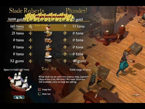 Sid Meier's Pirates! Rarest Ship in the Game!